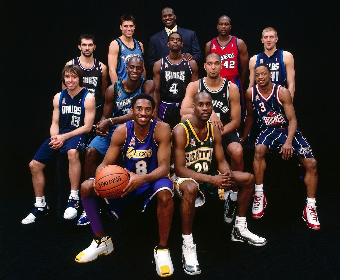 Il team della Western Conference all'All-Star Game 2002