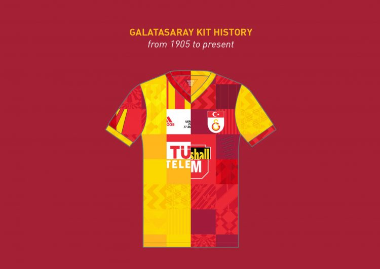 Collage maglie Galatasaray