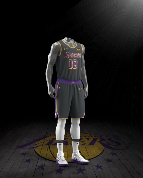Los Angeles Lakers maglia Earned 2021 NBA