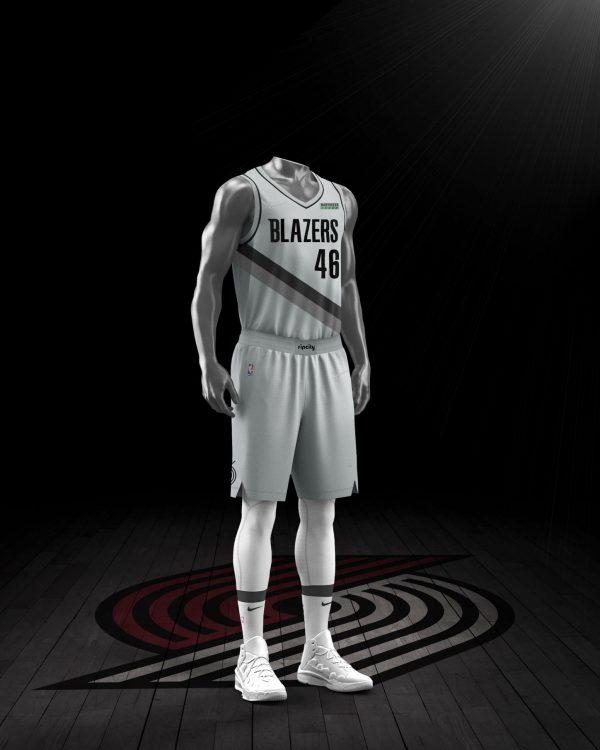 Portland Blazers maglia Earned 2021