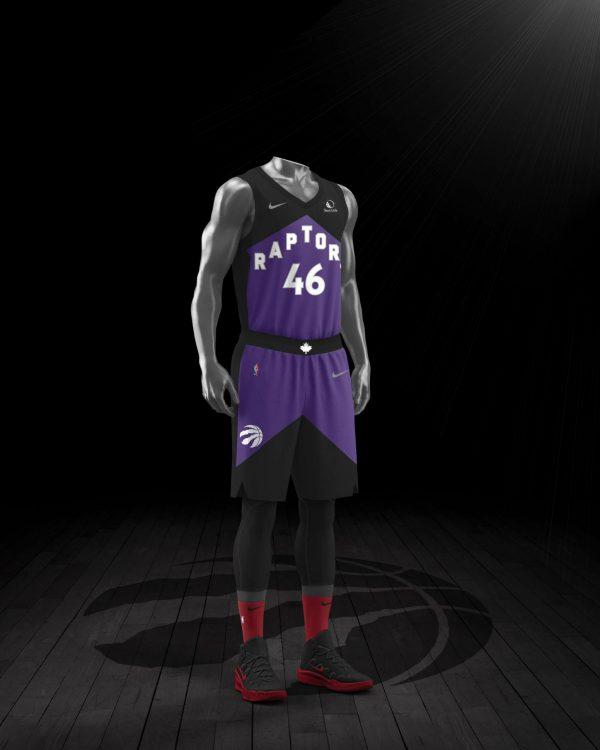 Toronto Raptors maglia Earned 2021