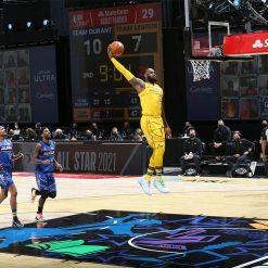 LeBron James schiacciata All Star Game 2021