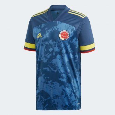 Seconda maglia Colombia blu 2021