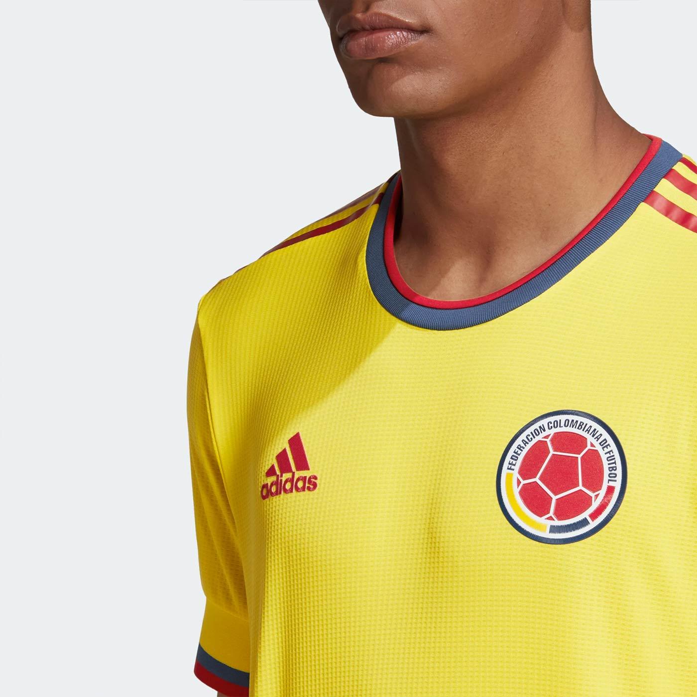 Maglie Colombia Copa America 2021, semplicità firmata Adidas