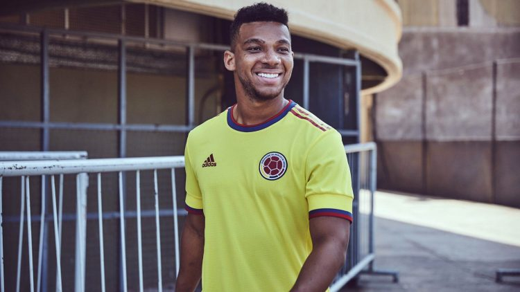 La nuova maglia della Colombia 2021