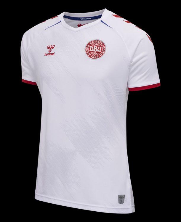 Seconda maglia Danimarca 2021-2022 bianca