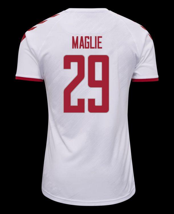 Seconda maglia Danimarca 2021-2022 retro