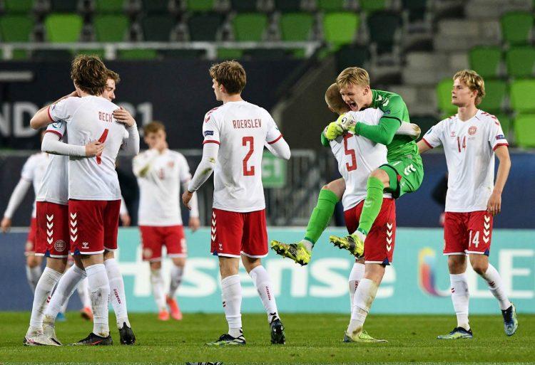 Danimarca U21 kit away