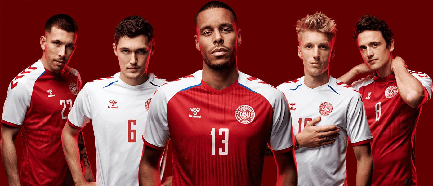 Le maglie della Danimarca per gli Europei 2021