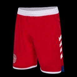 Pantaloncini Danimarca away 2021-22 rossi