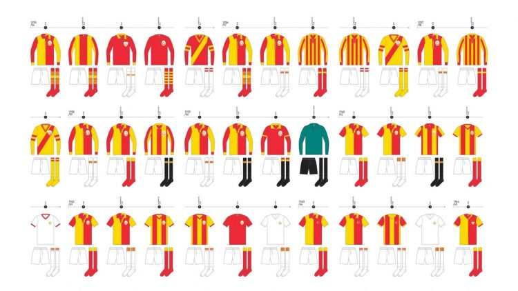 Maglie Galatasaray 1955-1965