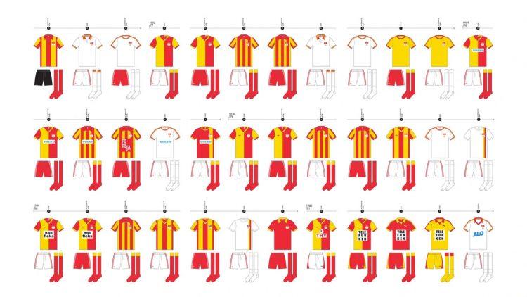 Evoluzione divisa Galatasaray 1976-1982