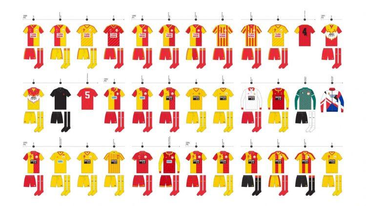 Maglie Galatasaray 1989-1995