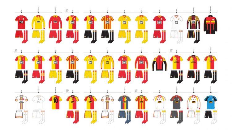 Maglie Galatasaray 1995-2000