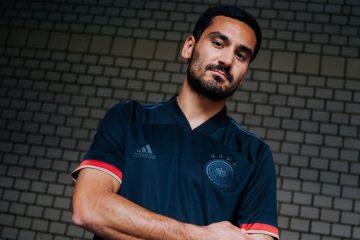 La seconda maglia della Germania 2021 nera