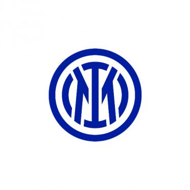 Inter nuovo logo bianco e blu