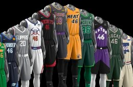 Maglie Earned NBA 2021