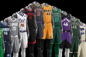 Maglie Earned NBA 2021