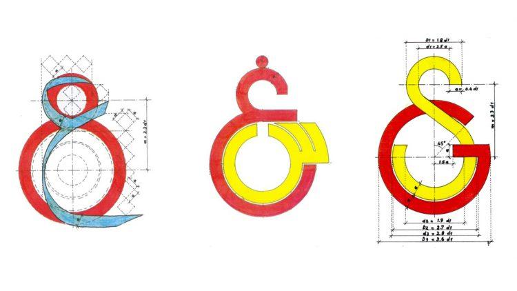 schizzo di studio dello stemma