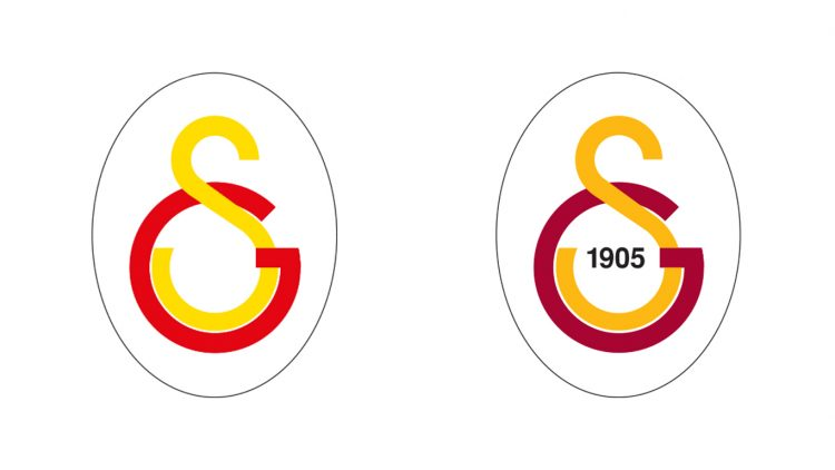 Loghi Galatasaray all'interno dell'ovale