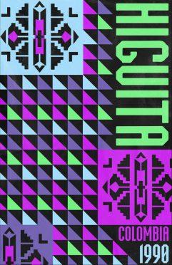 Higuita Colombia Poster 1990