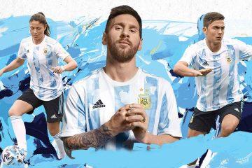 Argentina nuova maglia Copa America 2021