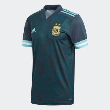 Seconda maglia Argentina verde petrolio 2021