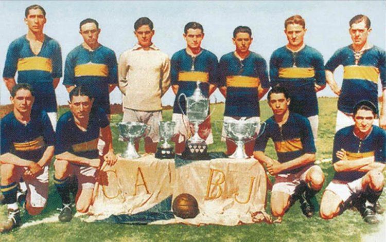 Formazione Boca Juniors 1919