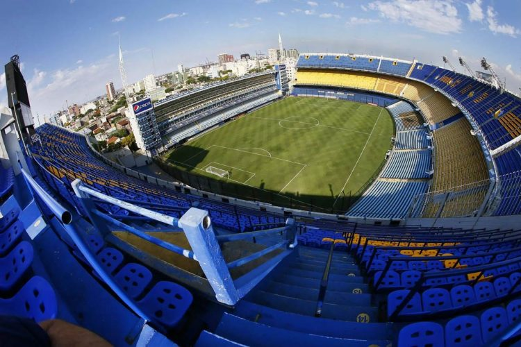Curva stadio Bombonera