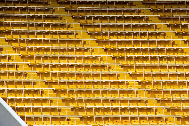 Spalti tribune Bombonera stadio