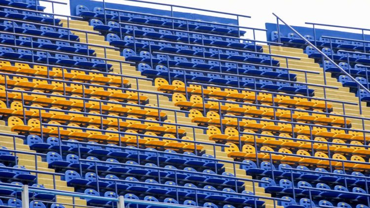 Spalti Bombonera stadio
