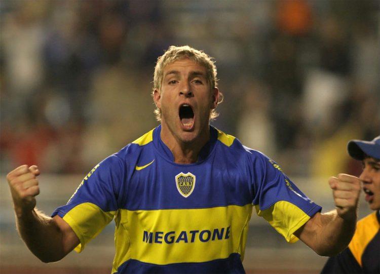 Martín Palermo al Boca
