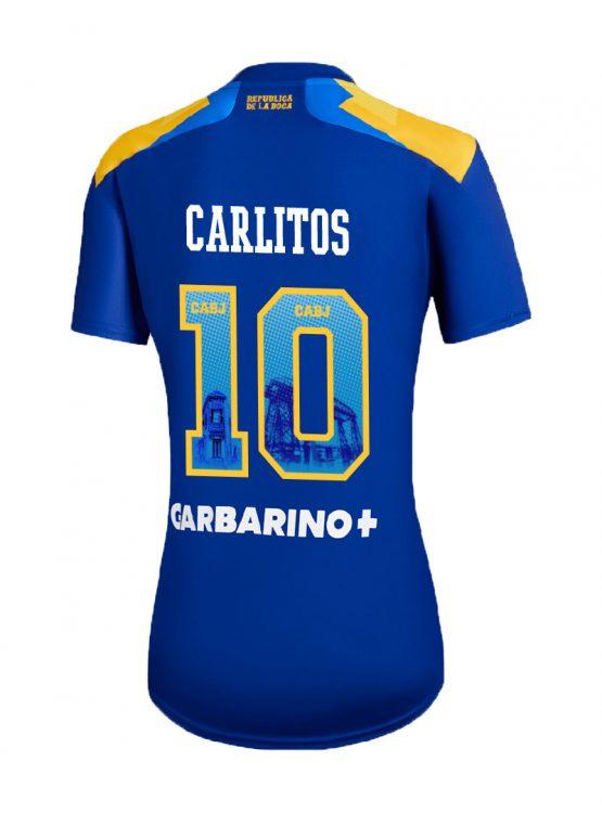 Terza maglia Boca Juniors 2021-2022 Carlitos 10