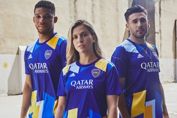La terza maglia del Boca Juniors firmata Adidas 2021-2022