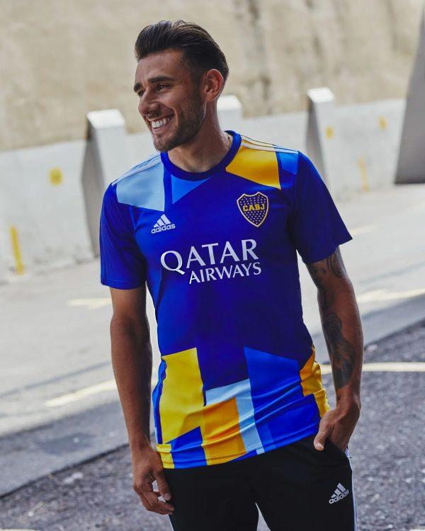 Ispirazione al Caminito per la terza maglia del Boca Juniors
