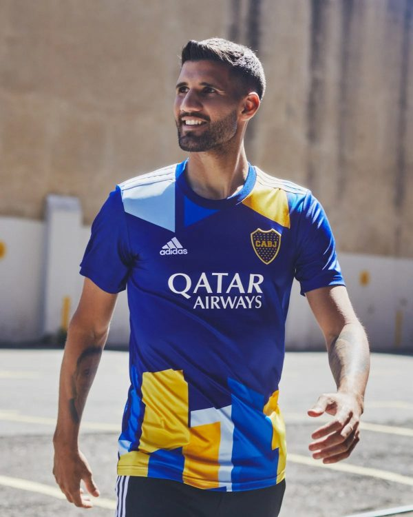 Boca Juniors terza maglia 2021-2022 Adidas
