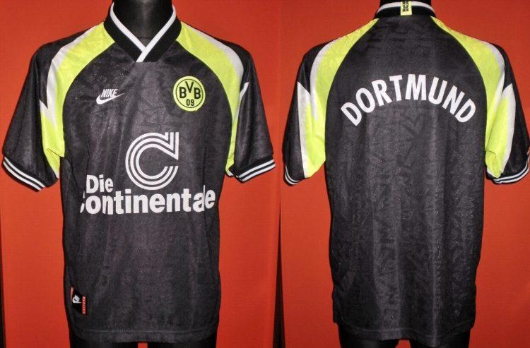 La maglia del BVB 1995-1996 da trasferta