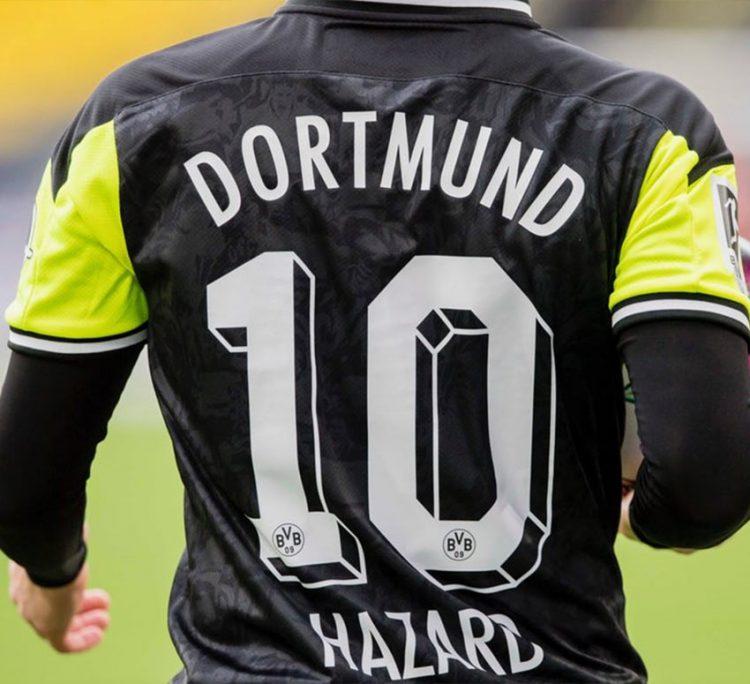 Font Borussia Dortmund 3D anni 90