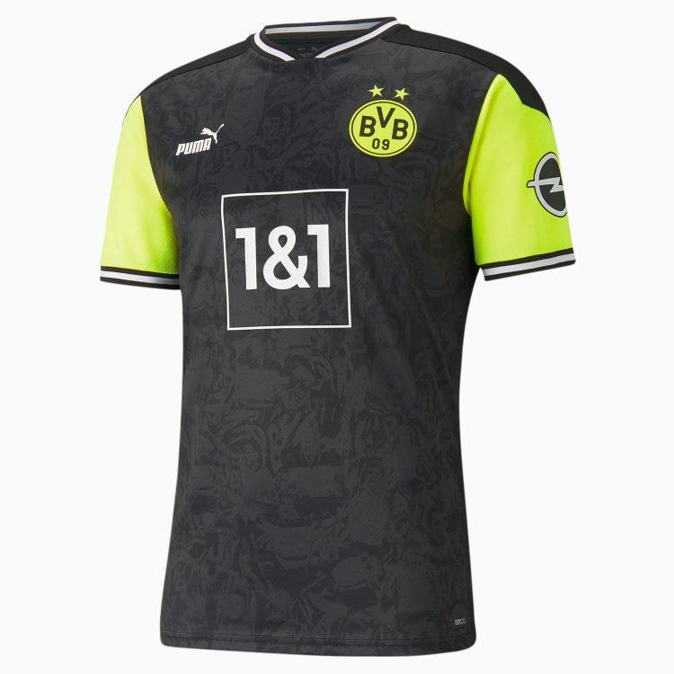 Maglia Borussia Dortmund speciale giallo fluo nero