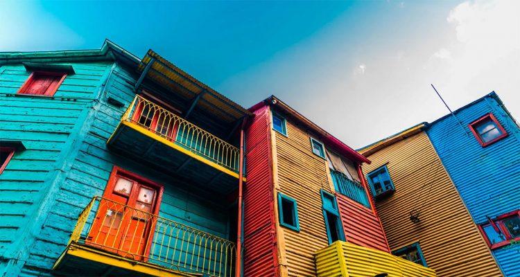 I colori del Caminito a Buenos Aires