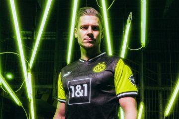 La maglia speciale del Borussia Dortmund anni 90