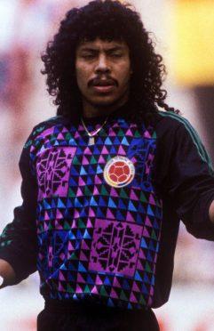 Higuita Colombia Maglia 1990