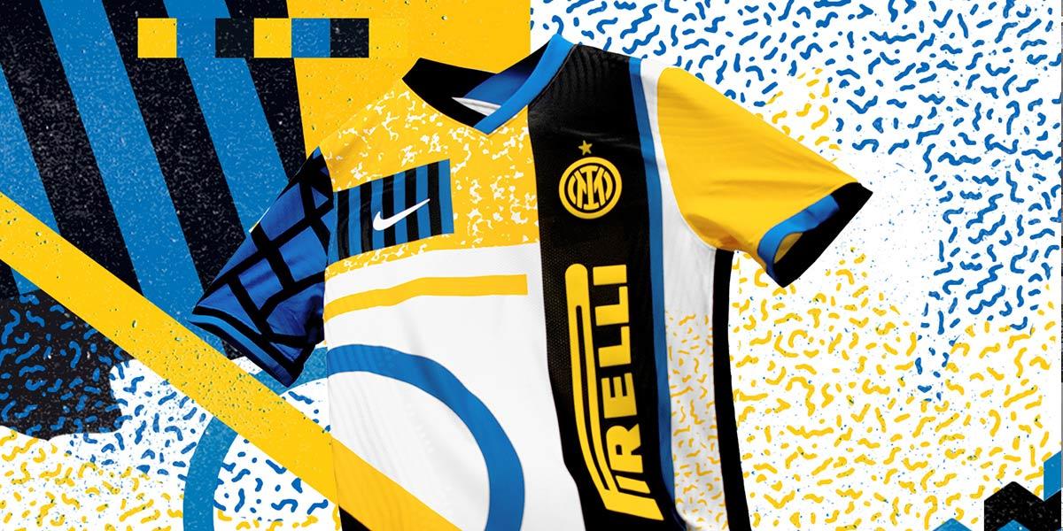 La quarta maglia dell'Inter 2020-2021