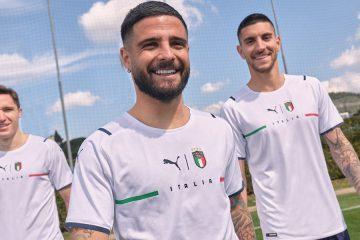 Nuova maglia Italia away 2021 Puma
