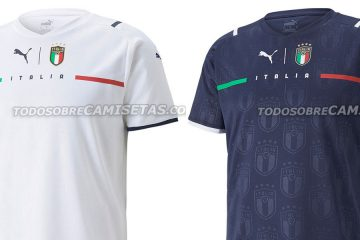 Anteprima maglia Italia 2021 away