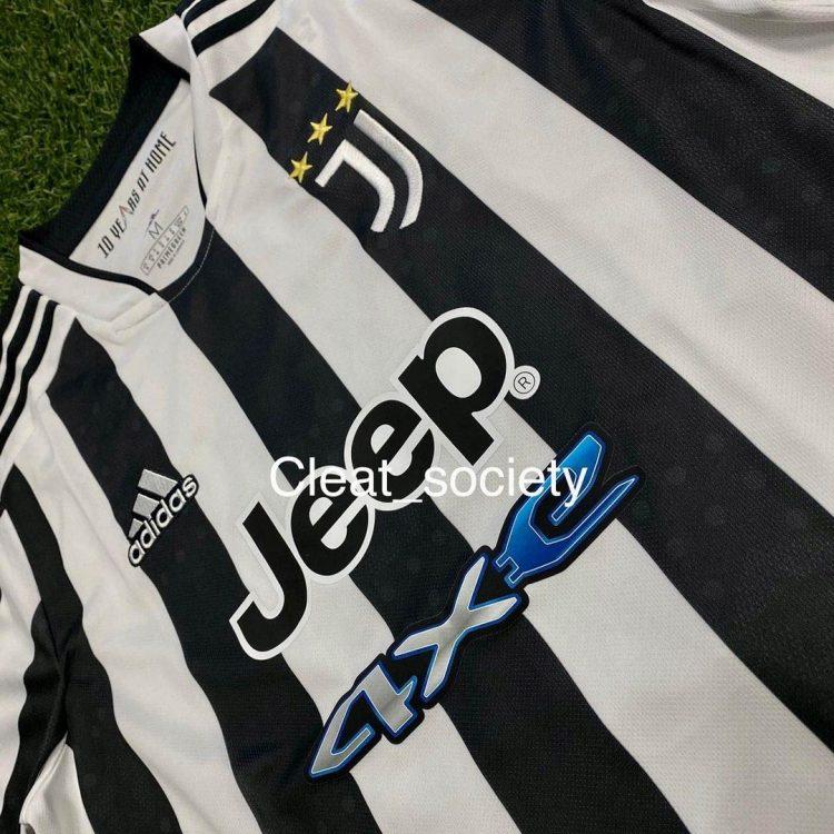 Dettagli nuova maglia Juventus