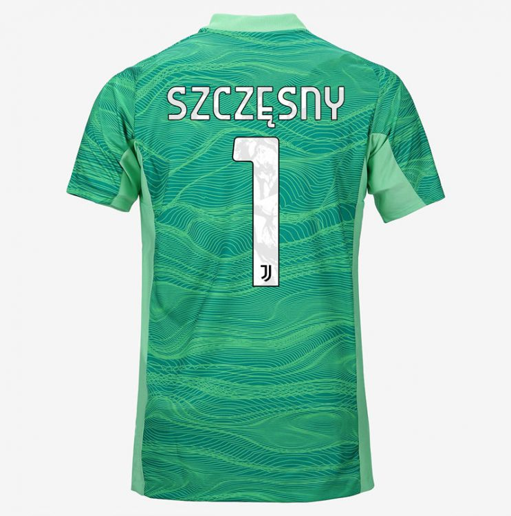 Maglia portiere Juventus Szczesny 2021-2022 verde