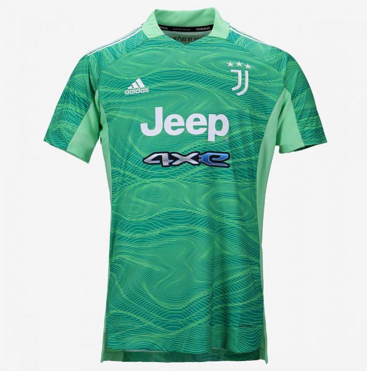 Maglia portiere Juventus 2021-2022 verde