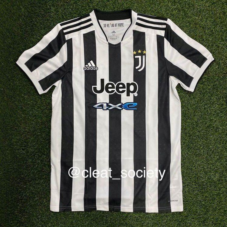 Maglia Juventus 2021-2022 in anteprima