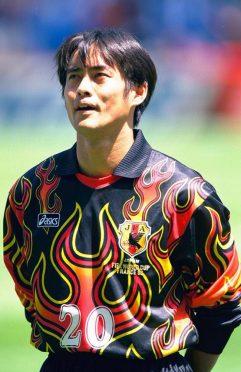 Kawaguchi Giappone Maglia 1998